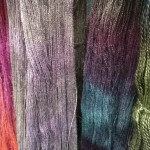 Hand Dyed Yarn and Fibres Woolfest 3