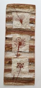 Seed Head Miniature Quilt www.kateskloths.co.uk
