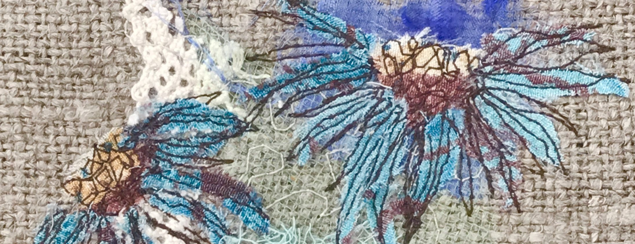 Creative Embroidery Textile Art Kate Slaughter Textile Artist